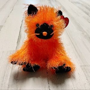"""TY Punkies - SPOOKERS the Halloween Cat 8"""" MINT"""